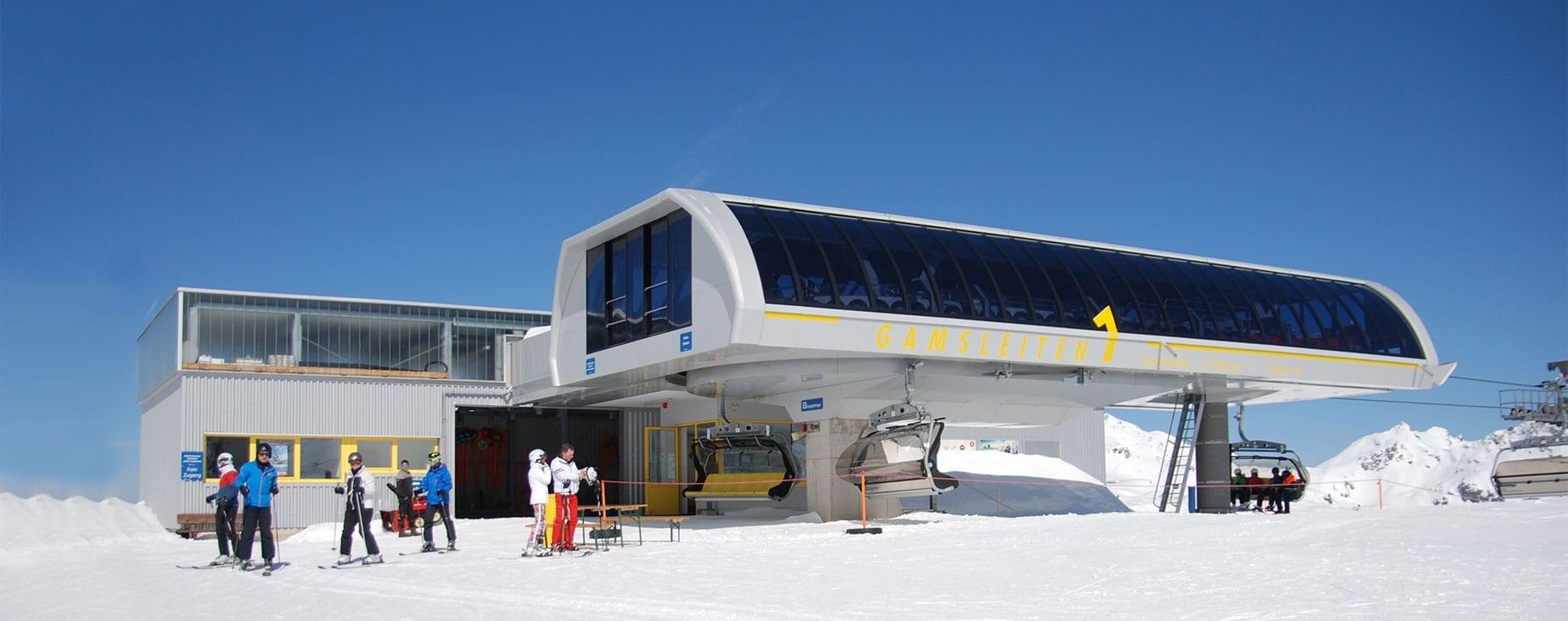 Gamsleiten 1 im Skigebiet Obertauern, Salzburg