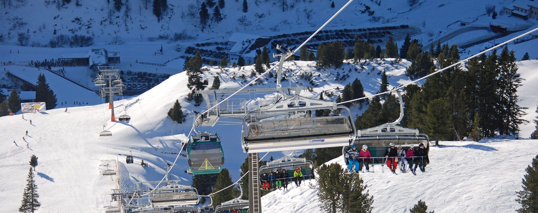 Grünwaldkopfbahn im Skigebiet Obertauern, Salzburg