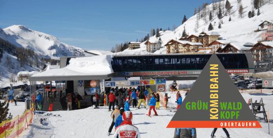 Grünwaldkopfbahn, Skigebiet Obertauern
