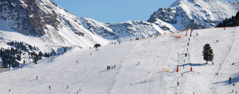 Kirchbühellift im Skigebiet Obertauern, Salzburg