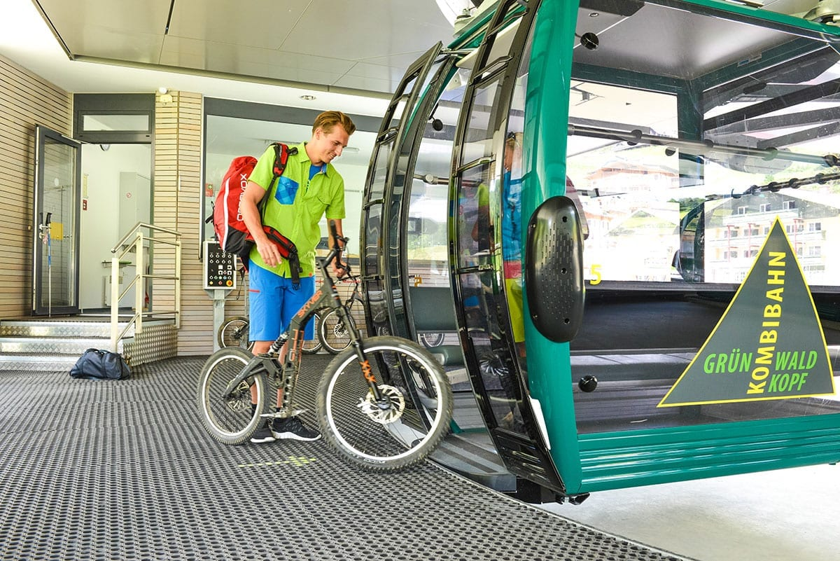 Biken - Sommerbetrieb der Bergbahnen Obertauern