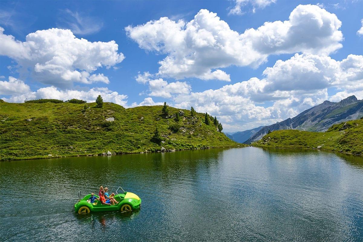 Wandern - Sommerbetrieb der Bergbahnen Obertauern